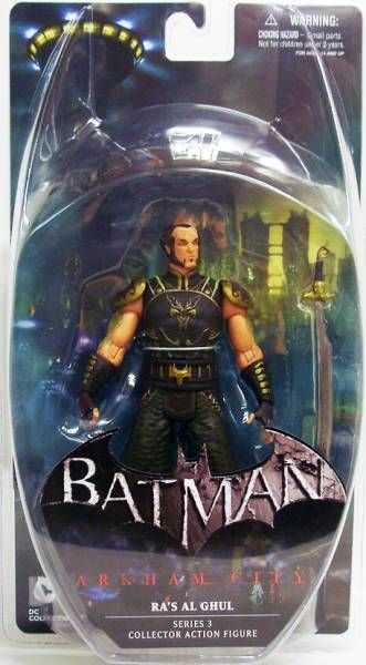 DC Direct - Batman Arkham City - Ra\'s Al Ghul