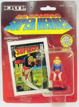 DC Super Heroes - ERTL die-cast metal figure - Supergirl