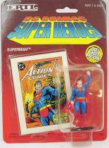 DC Super Heroes - ERTL die-cast metal figure - Superman raised fist