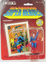 DC Super Heroes - ERTL die-cast metal figure - Superman raised fist