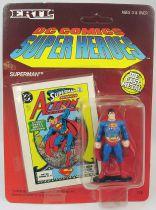 DC Super Heroes - ERTL die-cast metal figure - Superman standing