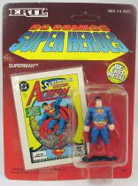 DC Super Heroes - ERTL die-cast metal figure - Superman standing