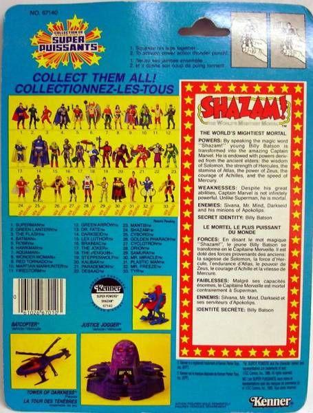 DC Super Powers - Kenner - Shazam!