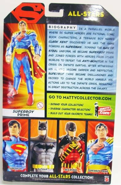 DC Universe - All-Stars - Superboy Prime