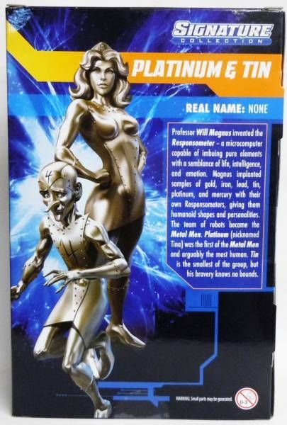 DC Universe - Signature Collection - Platinum & Tin