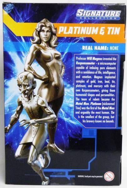 DC Universe - Signature Collection - Platinum & Tin