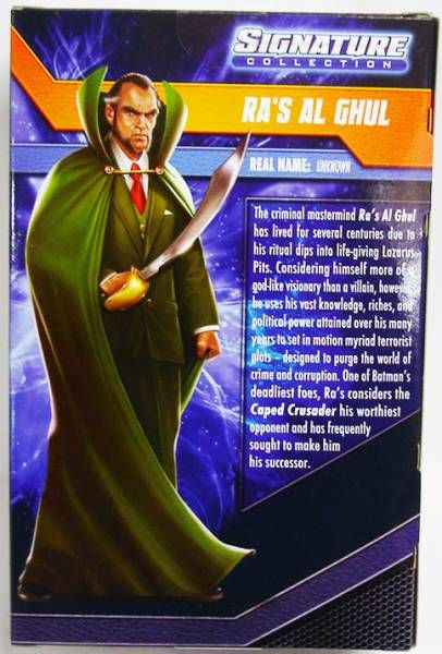 DC Universe - Signature Collection - Ra\'s Al Ghul