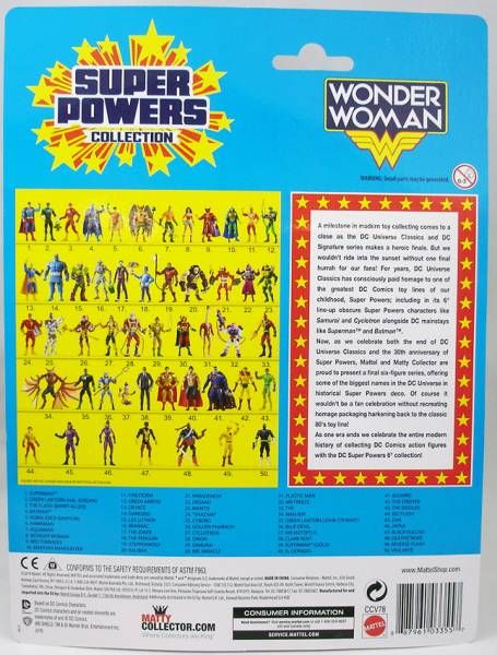 DC Universe - Super Powers Collection - Wonder Woman