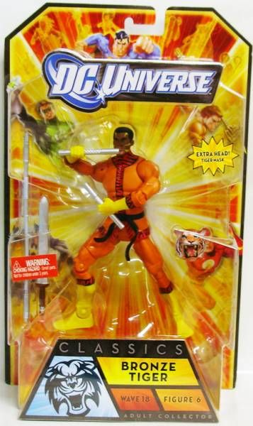 DC Universe - Wave 18 - Bronze Tiger