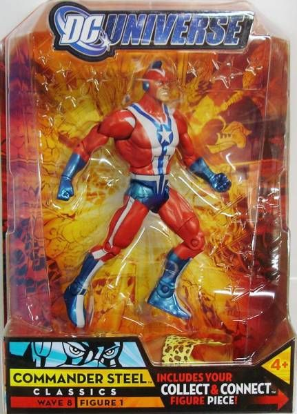 DC Universe - Wave 8 - Commander Steel