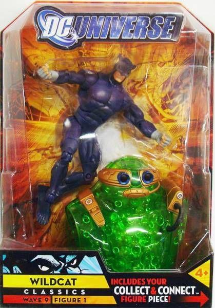 DC Universe - Wave 9 - Wildcat \\\'\\\'purple\\\'\\\'