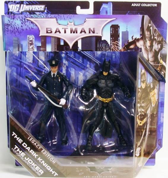 DC Universe Legacy Edition - The Dark Knight : The Joker (Honor Guard Disguise) & Batman