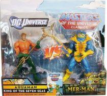 DC Universe vs. MOTU Classics - Aquaman & Mer-Man