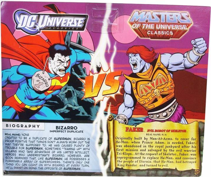 DC Universe vs. MOTU Classics - Bizarro & Faker