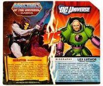 DC Universe vs. MOTU Classics - Lex Luthor & Skeletor