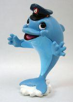 Delfy and his friends - Comics Spain PVC figure - Delfy (blue nose)