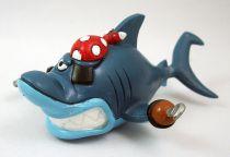 Delfy et ses amis - Figurine PVC Comics Spain - Sharky le requin pirate