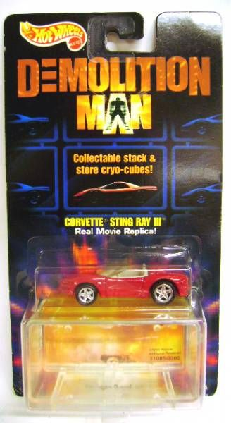 Demolition Man - Hot Wheels - Corvette Sting Ray II
