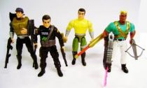 Demolition Man - Mattel - Set of 4 Action Figures