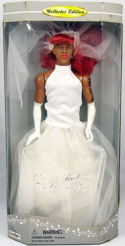 Dennis Rodman Poupée 30cm Collector Edition Wedding Day Loading Zoom