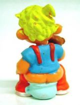 Dennis the Menace - Star Toys 1987 - Dennis on a chamberpot