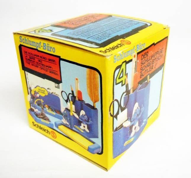 Desktop Smurf (Schlumpf Büro) - Schleich - 53104 Smurfy Pencil Pot