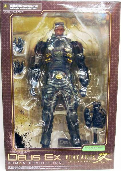 Deus Ex : Human Revolution - Lawrence Barrett - Play Arts Kai Action Figure - Square Enix