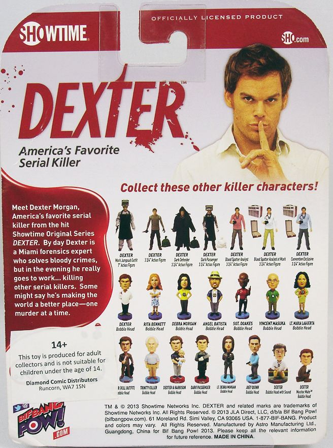 Dexter  Blood Spatter Analyst - Bif Bang Pow! (1)