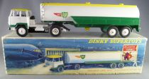Dinky SuperToys 887 Unic Tractor & Air BP Tanker Instruction Sheet Box