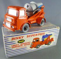 Dinky SuperToys 960 Camion Albion Toupie Bétonnière Lorry Mounted Concrete Mixer en Boite