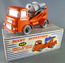 Dinky SuperToys 960 Lorry Mounted Concrete Mixer with Box