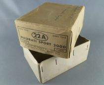 Dinky Toys France 22A Maserati Sport 2000 Empty Box for 6 pieces