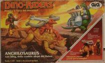 Dino Riders - Ankylosaurus with Sting - GIG Italy