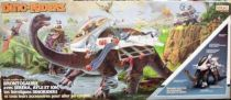 Dino Riders - Brontosaurus with Serena, Ayle & Ion - Ideal France