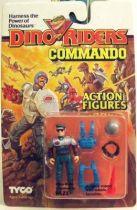 Dino Riders - Commando Faze - Tyco