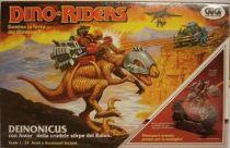 Dino Riders - Deinonychus with Antor - GIG Italy