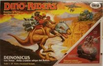 Dino Riders - Deinonychus with Antor - GIG Italy
