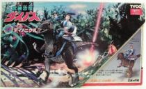 Dino Riders - Deinonychus with Sky - Tyco Japan