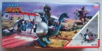 Dino Riders - Diplodocus with Questar, Mind-Zei & Aries - Tyco Japan
