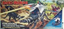 Dino Riders - Edmontonia with Axis - Tyco USA