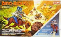 Dino Riders - Pachycephalosaurus with Tagg - Ideal France