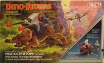 Dino Riders - Protoceratops & Kanon - Ideal France