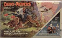 Dino Riders - Protoceratops & Kanon - Tyco USA