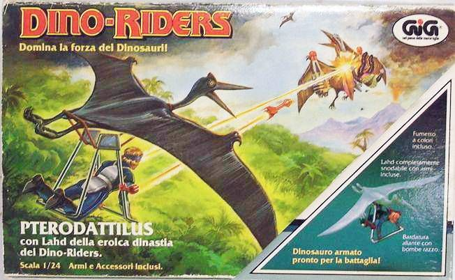 Dino Riders - Pterodactyl with Llahd - GIG Italy