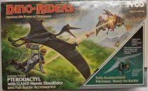 Dino Riders - Pterodactyl with Llahd - Tyco USA