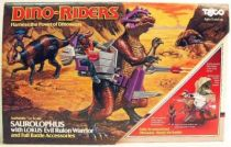 Dino Riders - Saurolophus with Lokus - Tyco USA