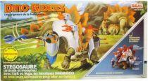 Dino Riders - Stegosaurus with Tark & Vega - Ideal France