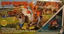 Dino Riders - Stegosaurus with Tark & Vega - Tyco USA
