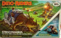 Dino Riders - Styracosaurus with Turret - GIG Italy