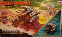Dino Riders - Torosaurus with Gunnur & Magnus - Comansi Spain